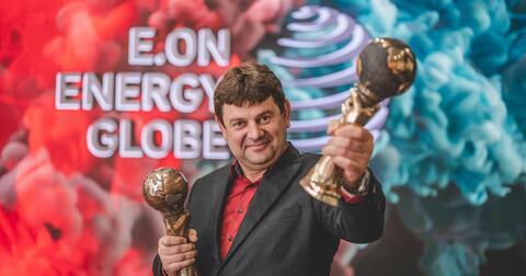 E.ON Energy Globe 2020 absolutní vítěz